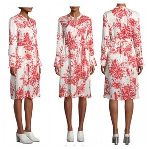 NWT! Equipment Roseabelle Abstract Floral Dress